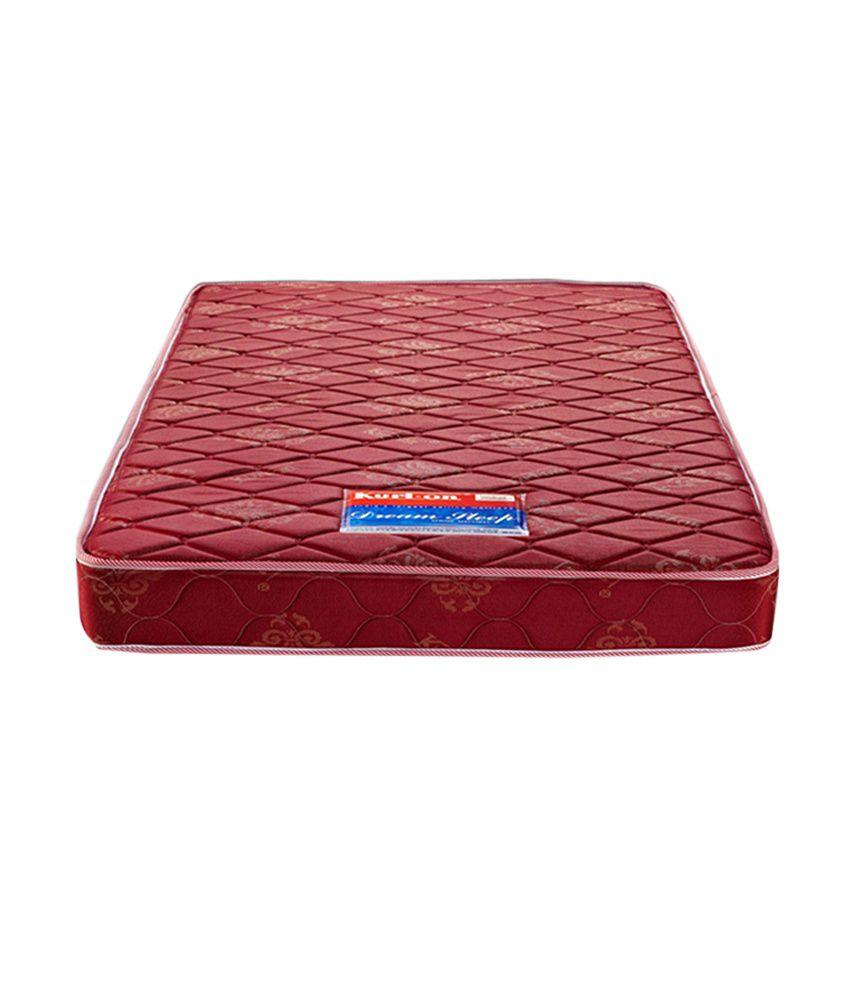 kurlon king size dream sleep spring mattress 78x72x6 inches buy