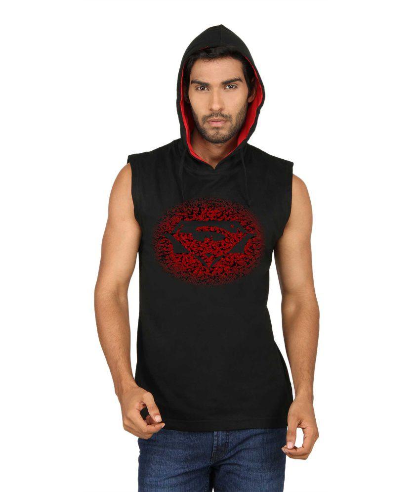 Sayitloud Men's Sleeve Less Hoodies