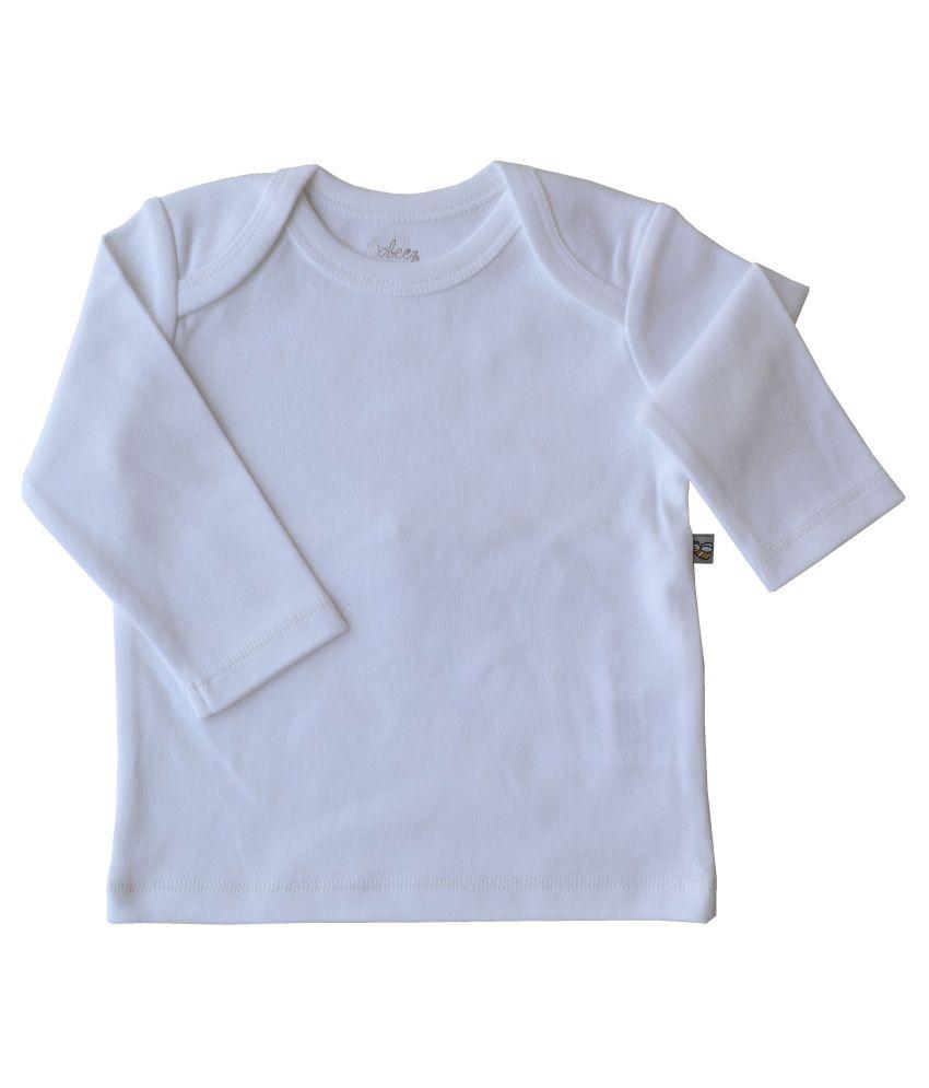 Babeez White Cotton T-shirt