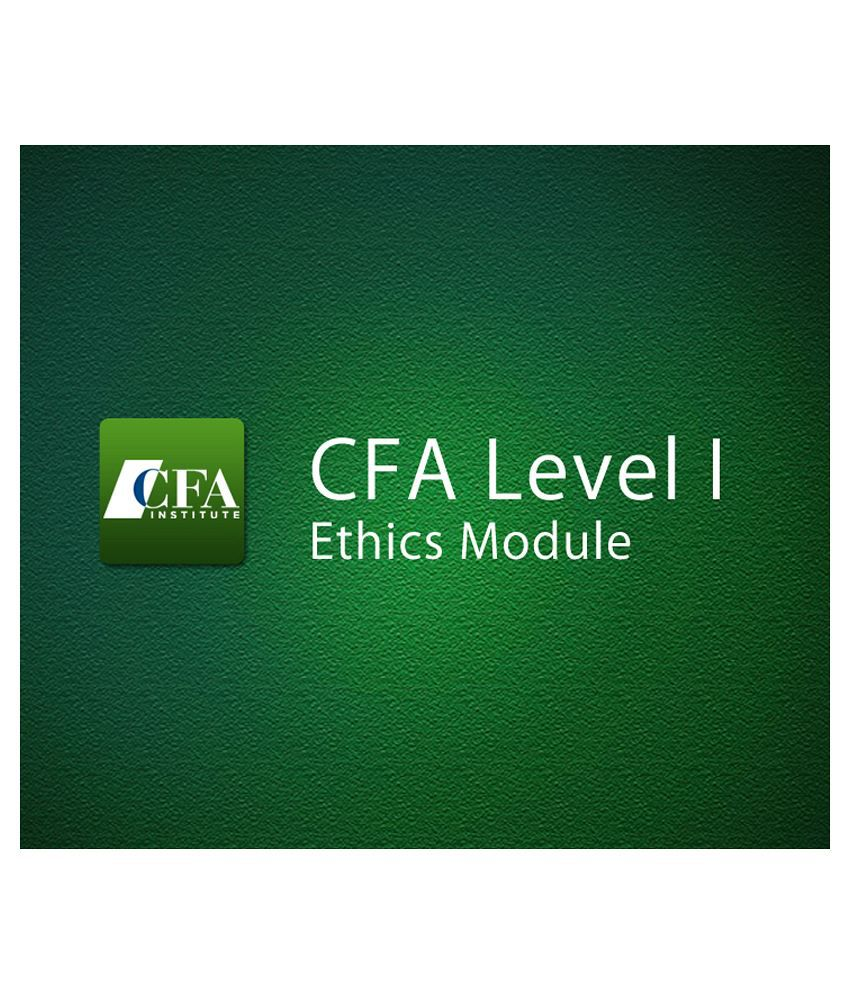 ethics on cfa Cfa - cfa level i ethics module from udemy in course details this module of cfa level i preparatory guide covers one of the most important part of cfa level i exam ethical and professional standards, popularly known as ethics module of cfa.