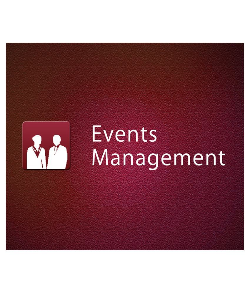 Effective Events Management (e-Certificate Course) - Concept of Product events, Concept of Pricing events, Concept of Promotion events, Event Management, Strategic Market Planning, Strategic Alternatives for Growth, Evaluation of Event Performance
