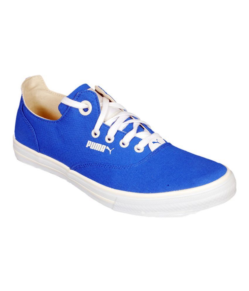 Puma Limnos Cat 2 Dp Blue Canvas Shoes available at SnapDeal for Rs ...