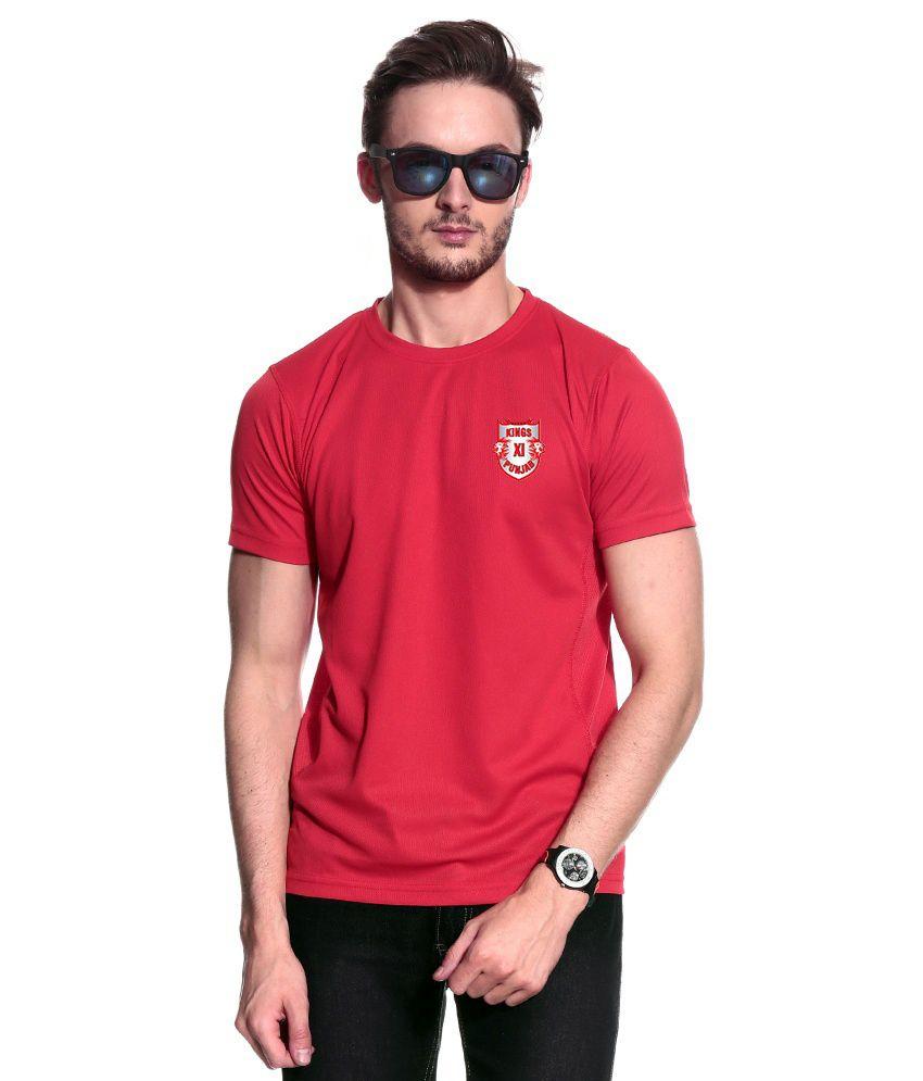 T10 Sports Pink T Shirt