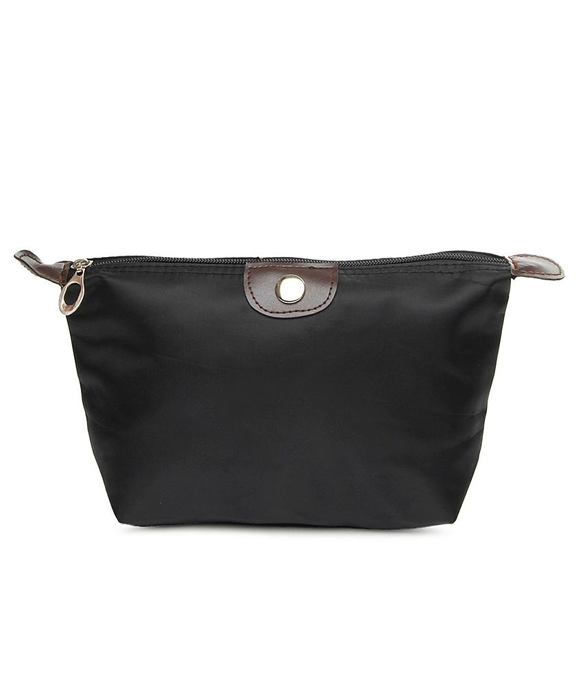 ToniQ Black  Polyester Clutch