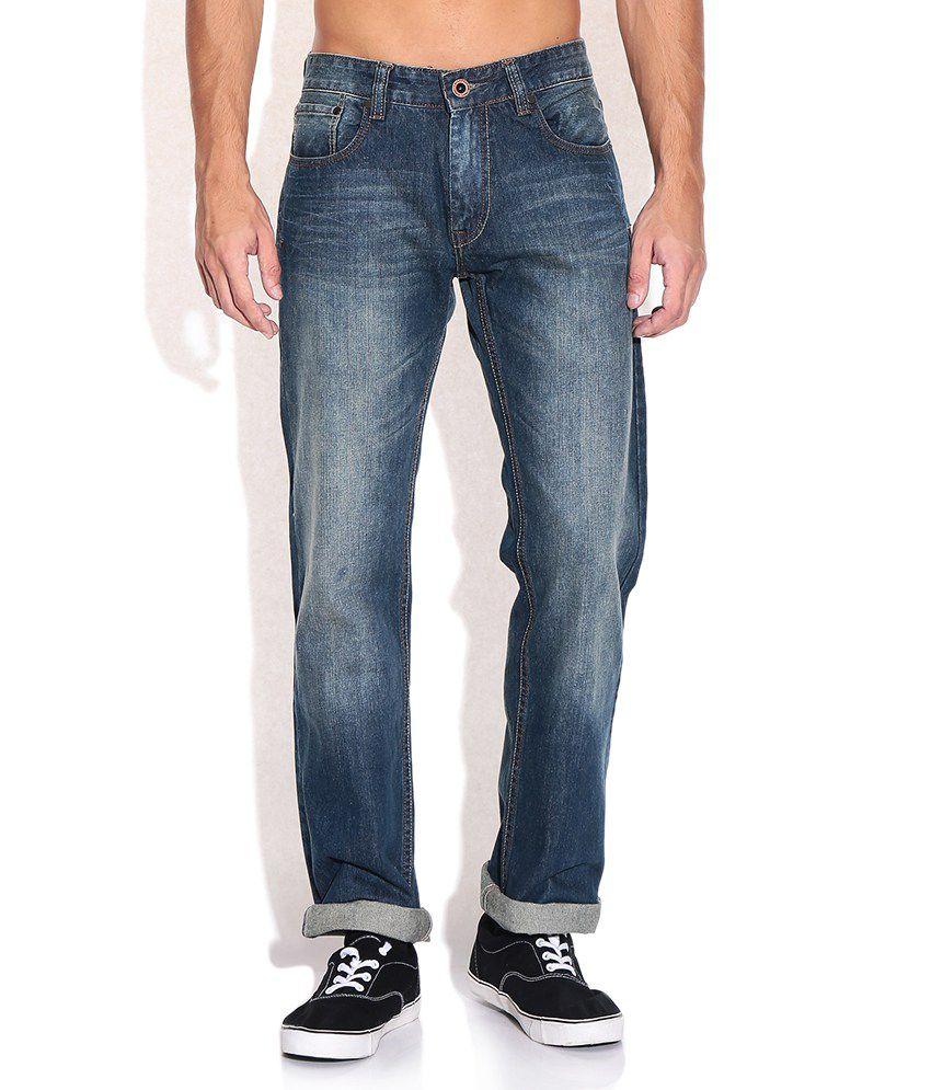 CAT Blue Regular Fit Jeans