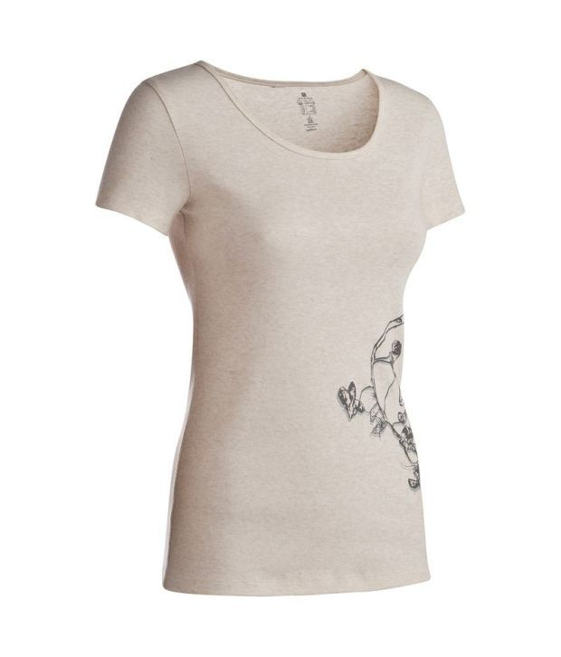 Domyos Cotton T-shirt Fitness Apparel