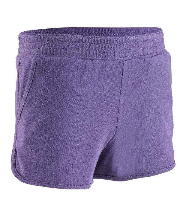 Domyos Velvet Shorts Fitness Apparel
