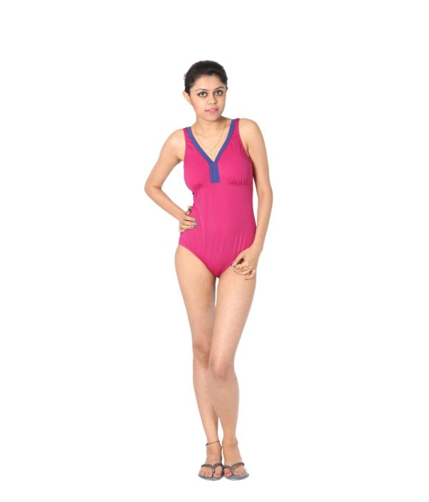 Indraprastha Pink Swimsuit/ Swimming Costume