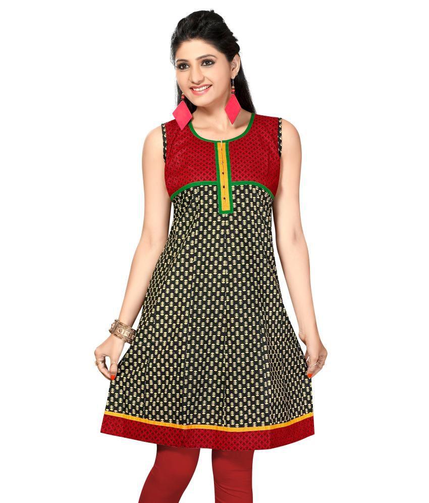 Sonal Dresses Multicolour Cotton Printed Kurti