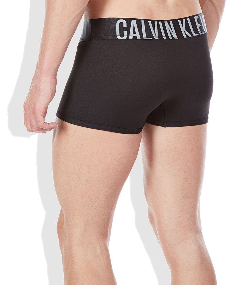14144806c5 Calvin Klein Underwear Black Polyester Low Rise Trunk - Buy Calvin ...