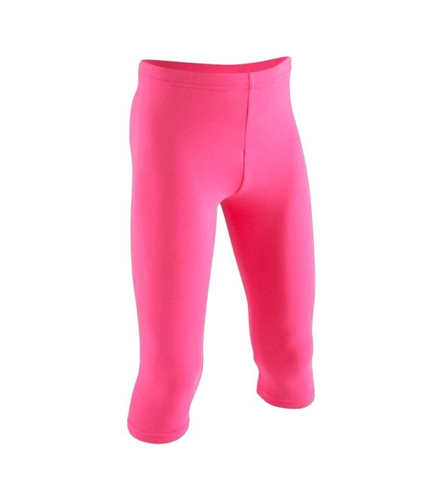 Domyos Girls Cropped Trouser Fitness Apparel
