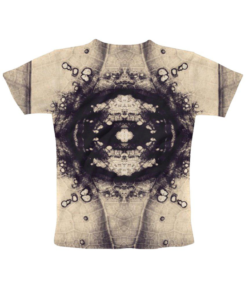Freecultr Express Beige Graphic Print Graphic Print Half Sleeve T Shirt