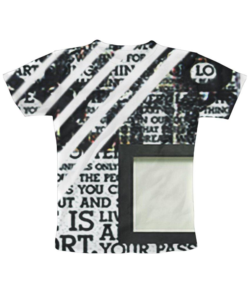 Freecultr Express Print 3 Graphic Multicolour Half Sleeve T Shirt