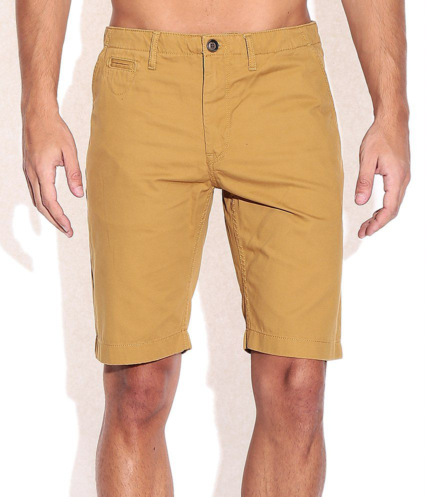Indian Terrain Tan Shorts