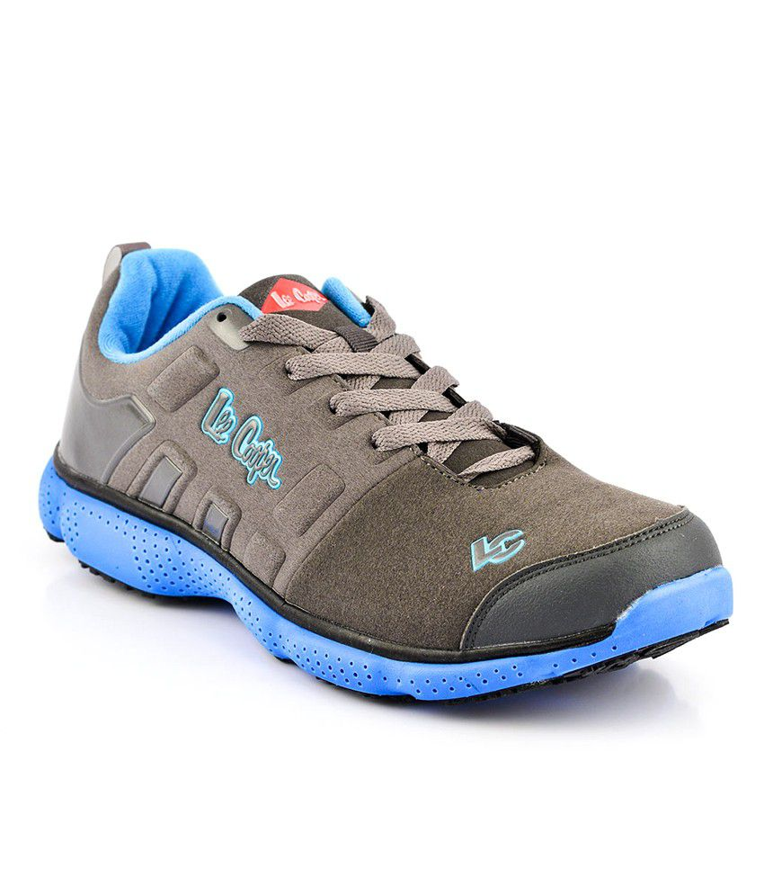 Lee Cooper Gray Sports Shoes