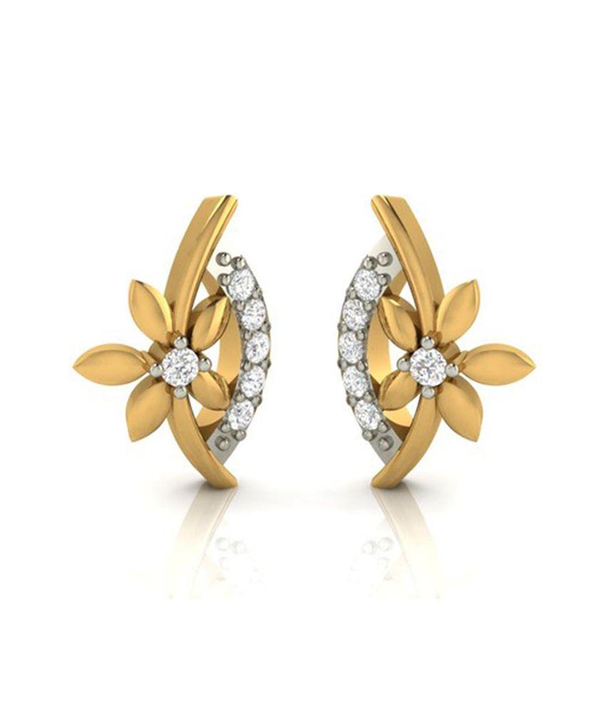 Diaashi Diamond Floral Earring
