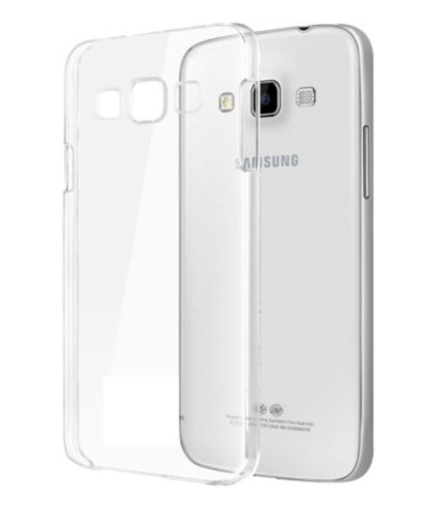online store 2c754 dc60d AryaMobi Back Cover for Samsung Galaxy Grand Quattro GT-I8552 - Thin Soft  Silicon Transparent Case