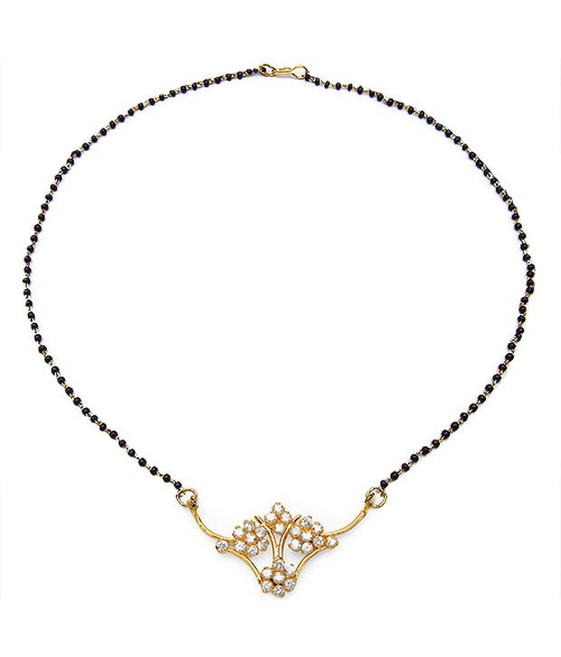 Johareez Beautiful Two Tone Mangalsutra