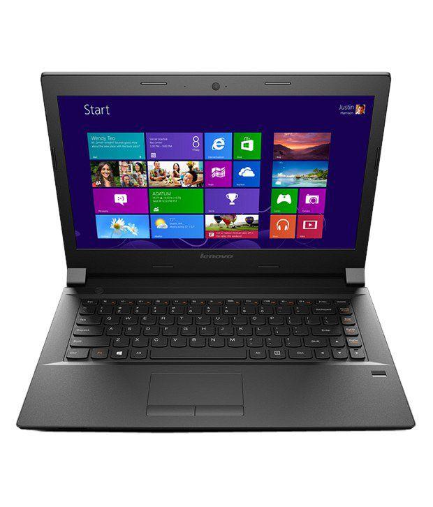Lenovo B40-70 Notebook (59-436219) (Intel Pentium- 2GB RAM- 500GB HDD- 35.56cm (14)- Windows 8.1) (Black)