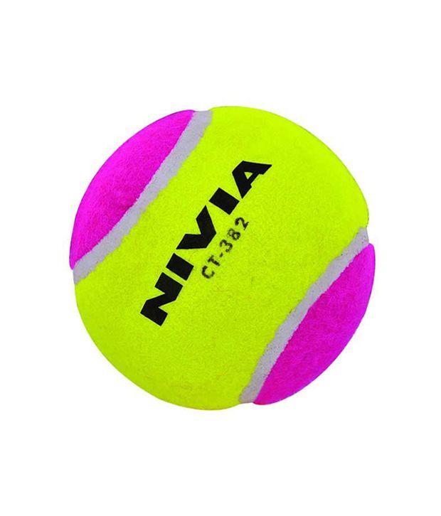 965c02fbade Nivia Cricket Tennis Ball Heavy Weight Multi Per 6 Balls Ct-383 ...