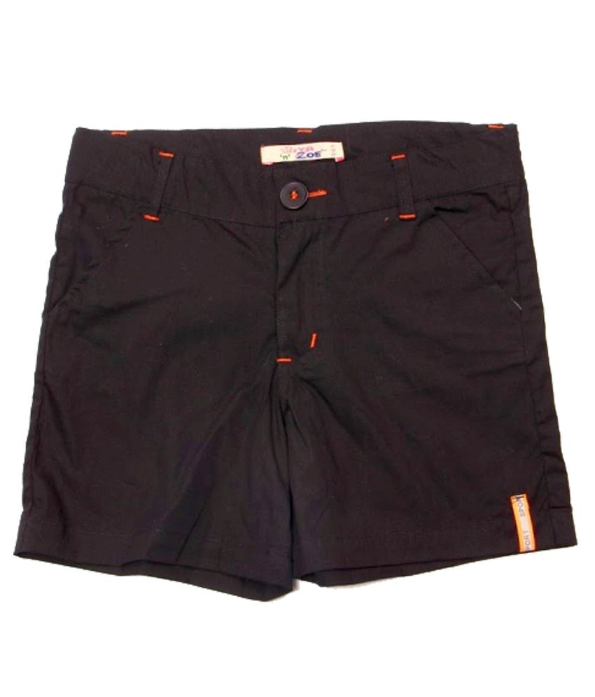 Riya N Zone Brown Denim Shorts