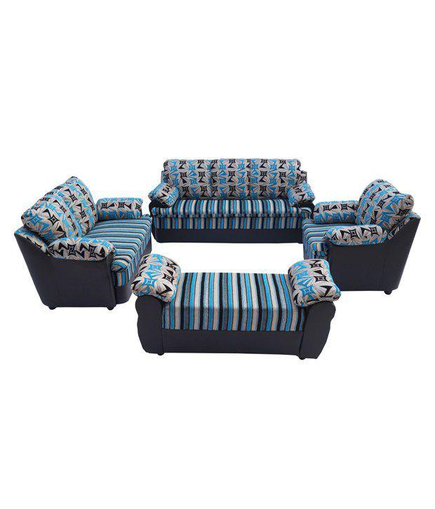 Solid Wood 7 Seater Sofa Set 3 2 1 Diwan