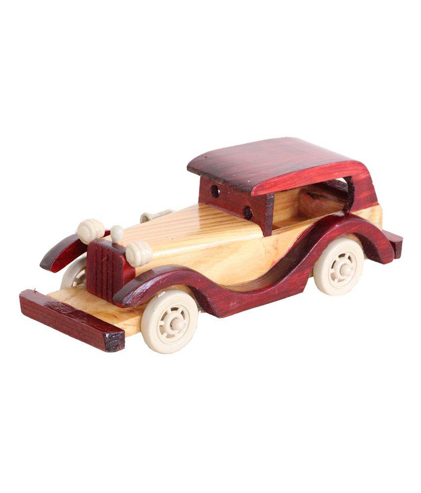 Royals Prides Wooden Toy Vintage Car - Buy Royals Prides Wooden Toy ...