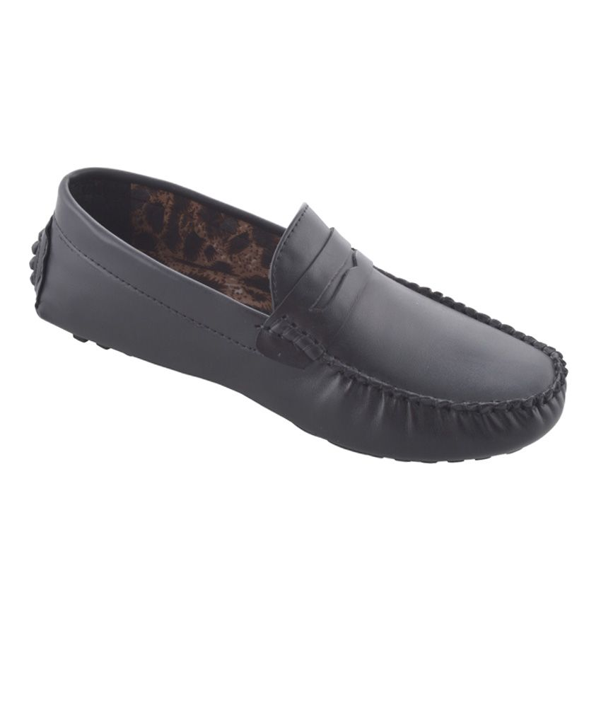 Hd Shoes Black Loafers - Buy Hd Shoes Black Loafers Online At Best Prices In India On Snapdeal