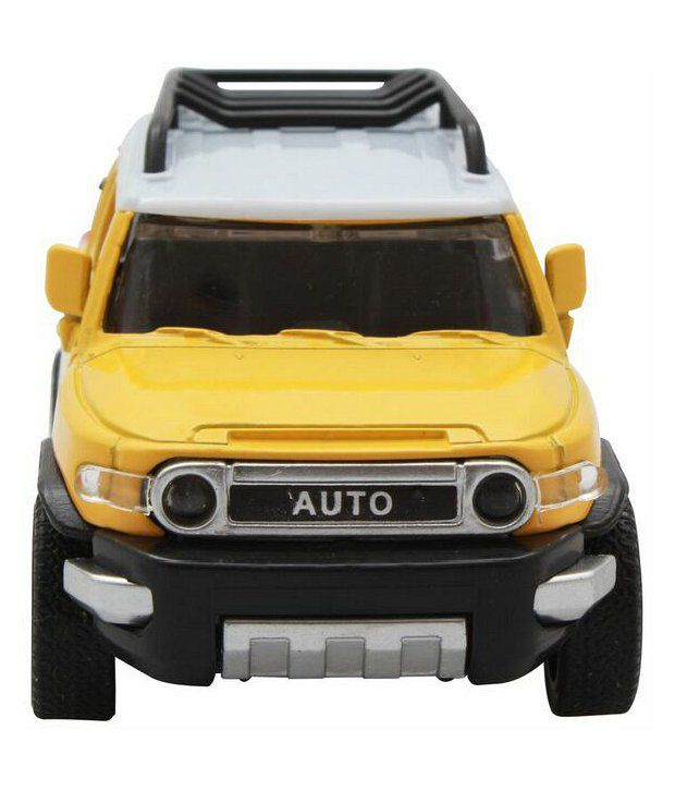 Lovely Die Cast Yellow Jeep Scale 1:32