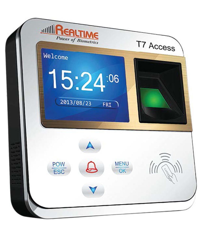 Realtime Biometric Time Attendance System