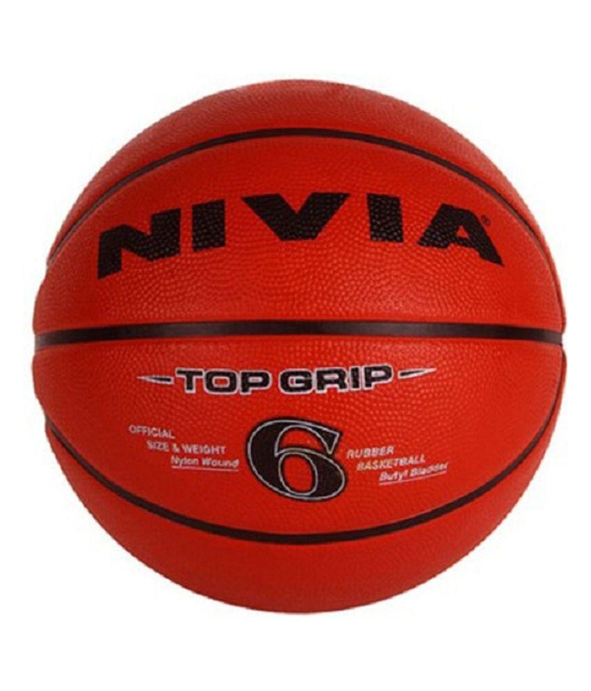Nivia Topgrip Basketball / Ball Size -6-BB-199