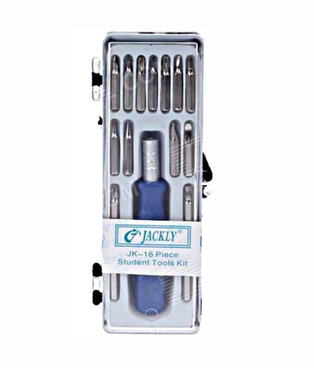 jackly combination screwdriver set price at flipkart. Black Bedroom Furniture Sets. Home Design Ideas