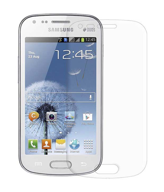 Samsung Galaxy Star Pro S7262 Clear Screen Guard by Zeorgia