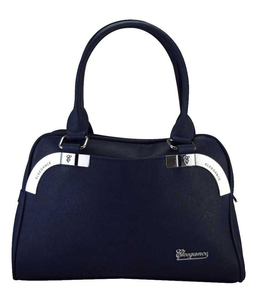 Eleegance Blue Shoulder Bags