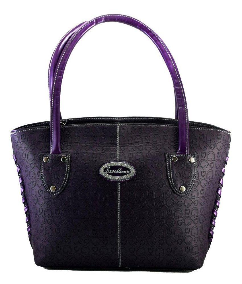 Exsellense Purple Tote Bags