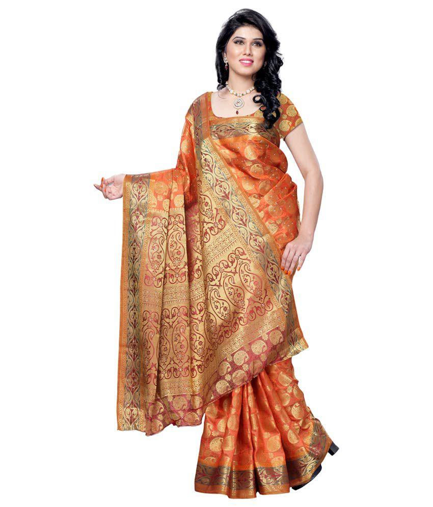 41c65996ec Mimosa Maroon Tussar Silk Banarasi Saree With Blouse Piece - Buy Mimosa  Maroon Tussar Silk Banarasi Saree With Blouse Piece Online at Low Price -  Snapdeal. ...