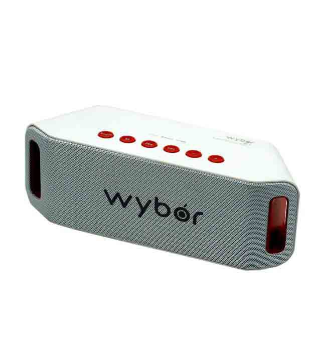 Wybor Bluetooth Speakers 2 Computer Speakers White