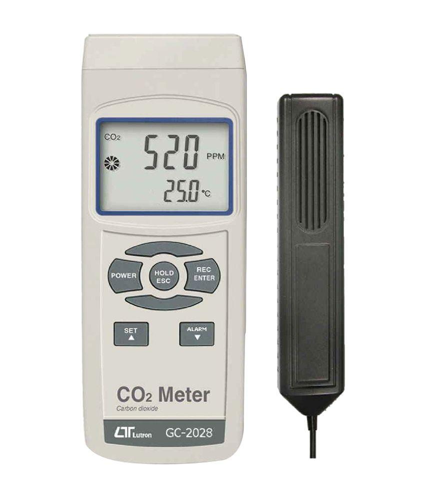 Lutron Electronic GC-2028 Analog Carbon Dioxide Meter: Buy
