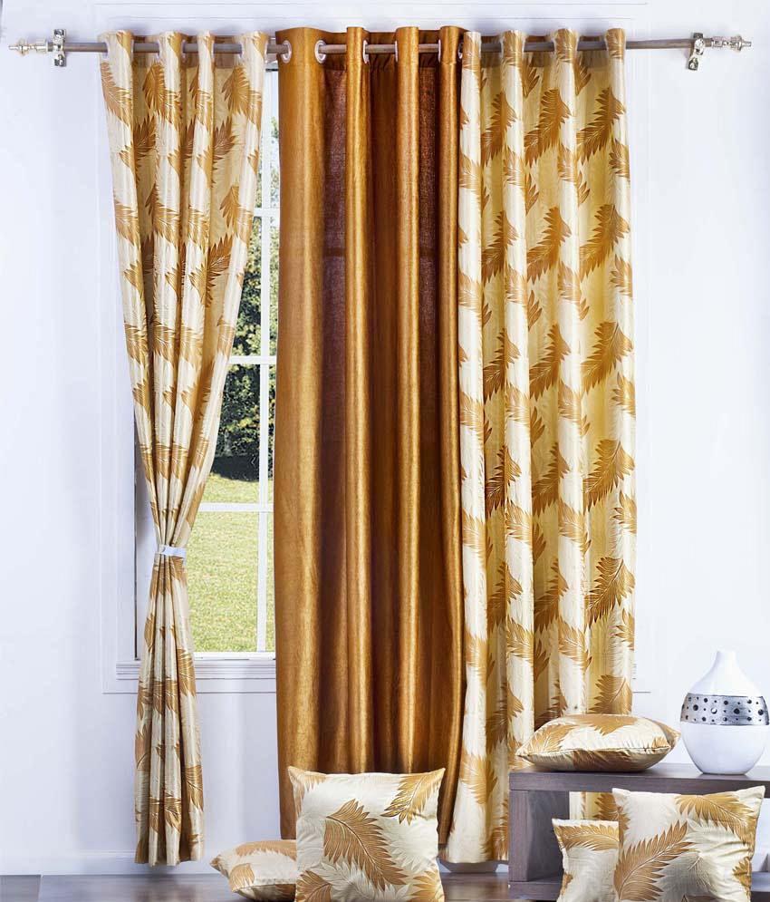 Vintage Set Of 3 Door Eyelet Curtains Buy Vintage Set Of