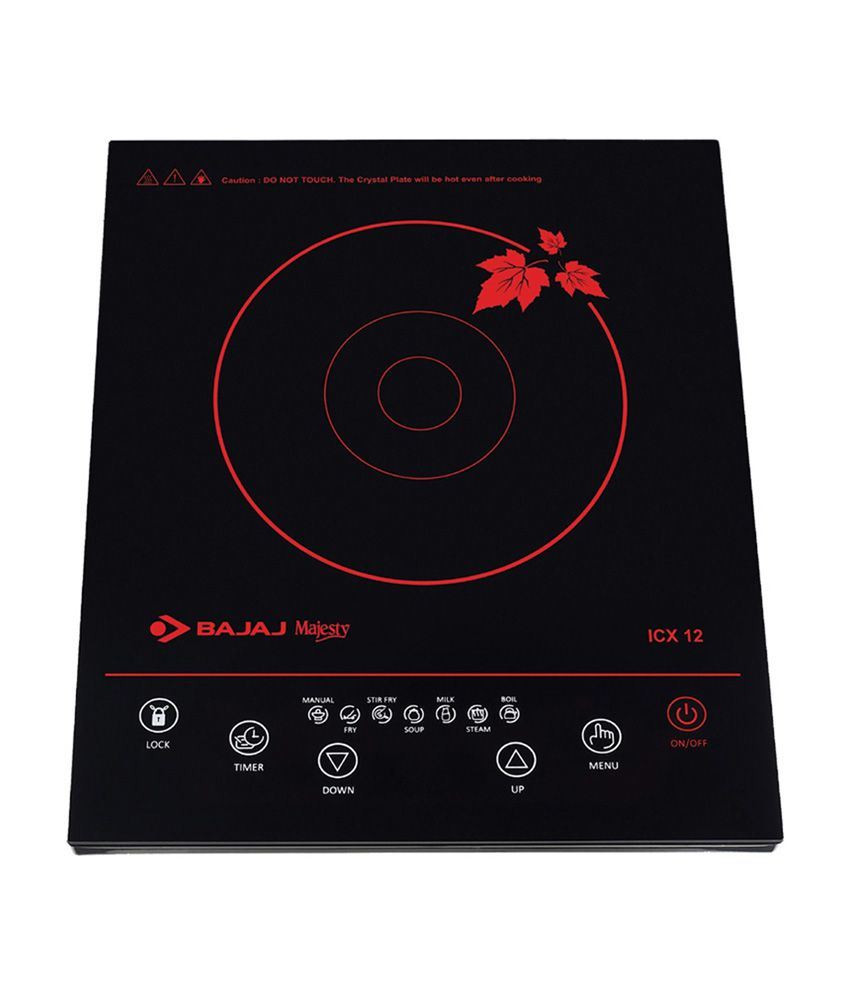 BAJAJ MAJESTIC ICX 12 INDUCTION COOKTOP