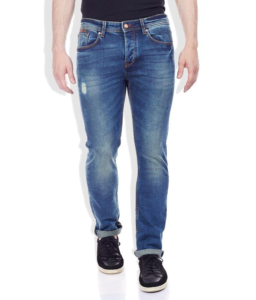 Being Human Blue Slim Jeans