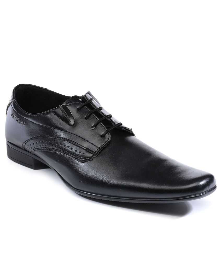 provogue black colour formal shoes price in india buy