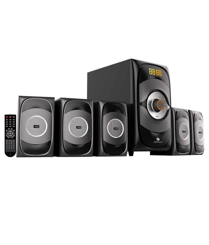 Zebronics Sw8390 Rucf 5.1 Multimedia Speaker