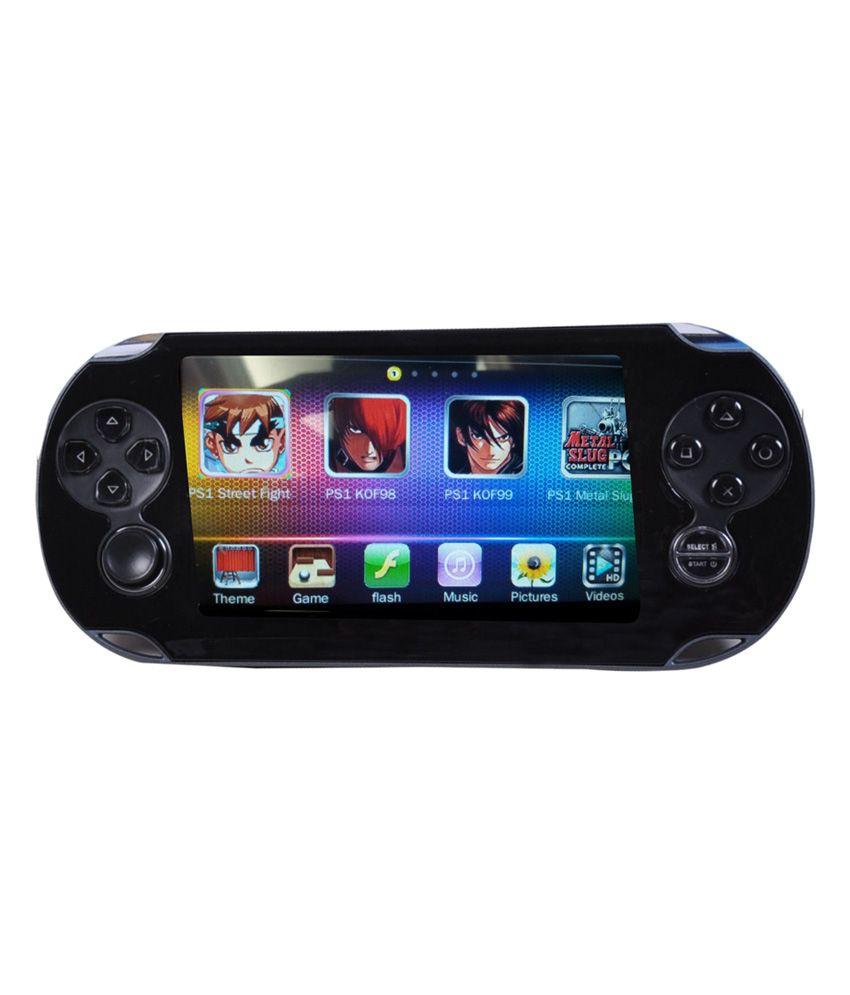 General Aux Portable Personal Entertainment Pocket Game 8gb - Black