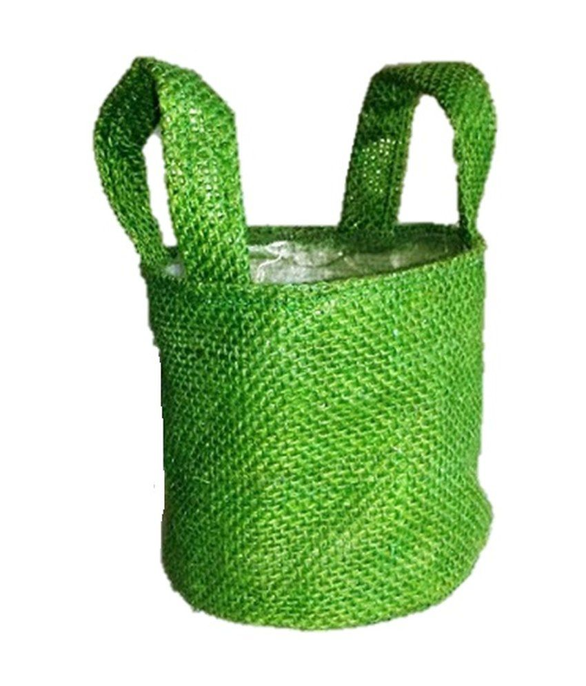 Success decor international green handcrafted bags home for Decor products international