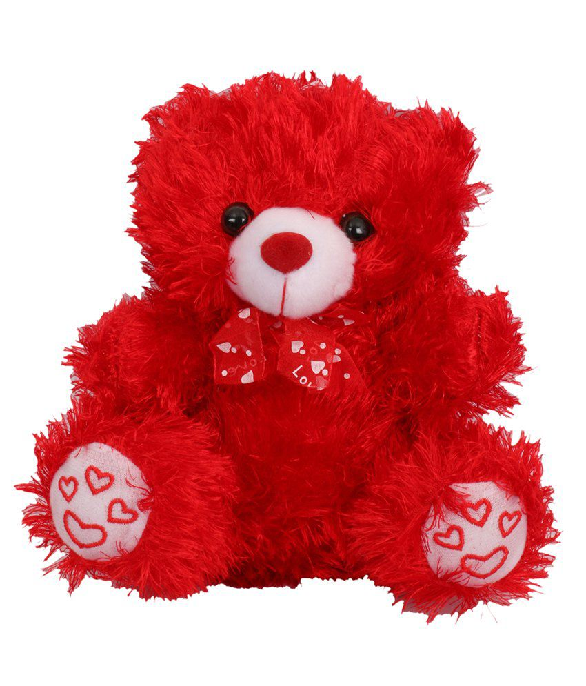 tickles red cute sitting teddy bear buy tickles red cute sitting