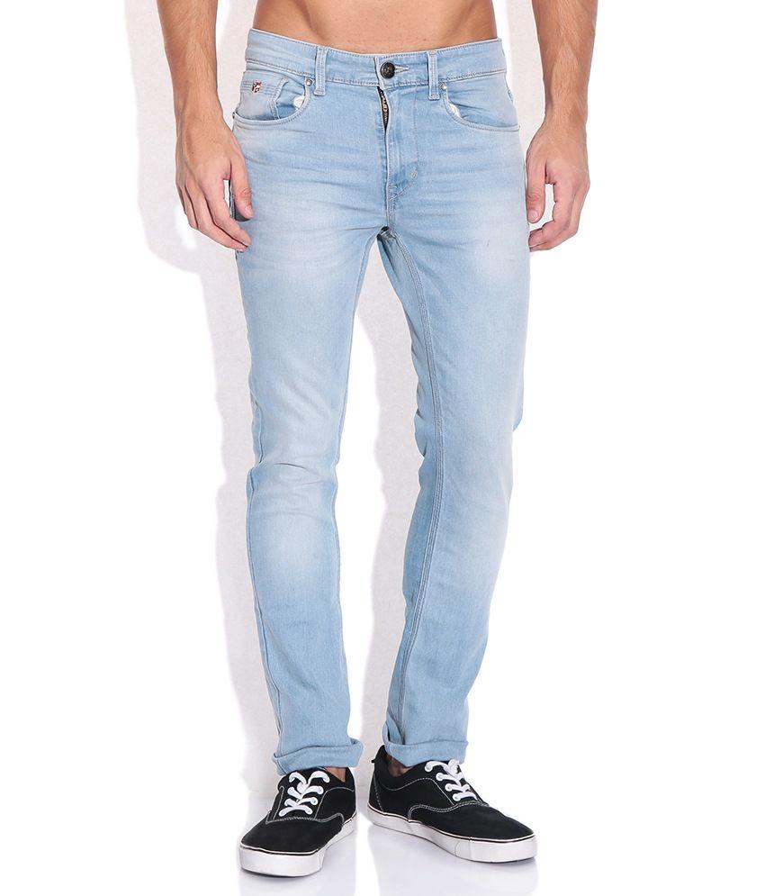 U.S. Polo Assn. Blue Skinny Fit Jeans
