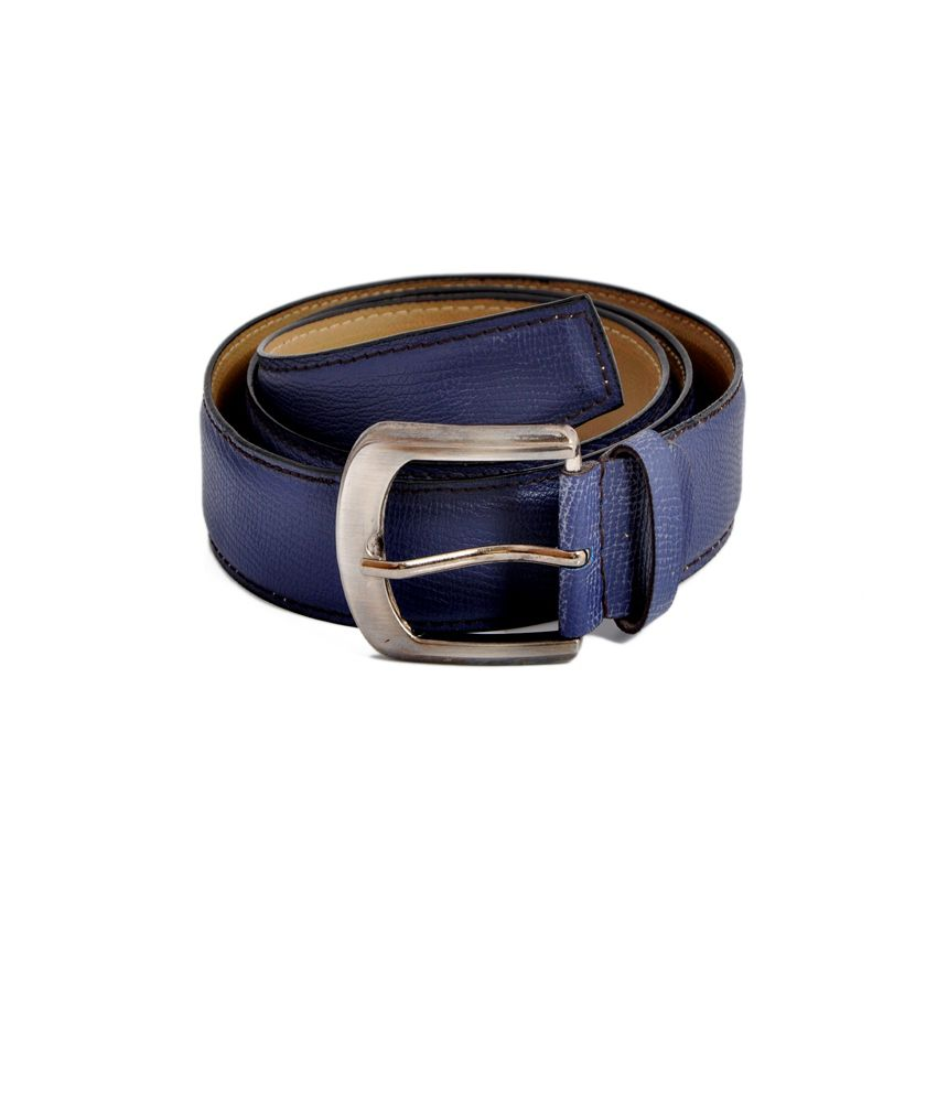 Stylox Blue Non Leather Casual Pretty Belt for Men