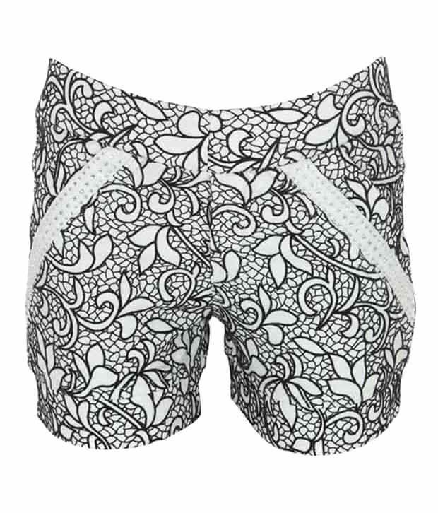 Eight26 Gray Cotton Shorts