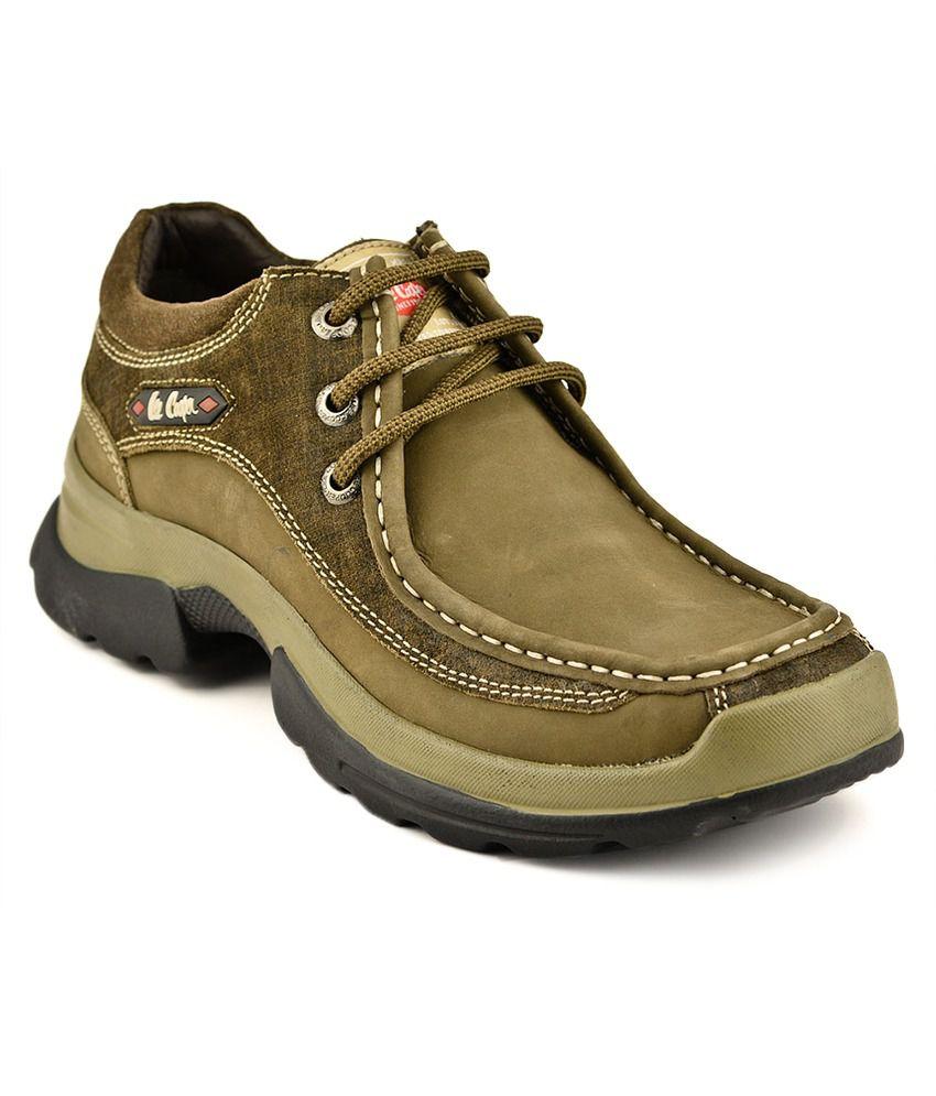 Lee Cooper Green Casual Shoes - Buy Lee Cooper Green ...